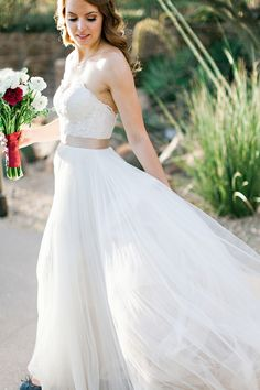 WTOO for Watters 'Agatha' gown  Available at Bella Lily Bridal www.bellalilybridal.com