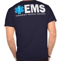 EMS Shirt with small text T Shirt, Hoodie Sweatshirt