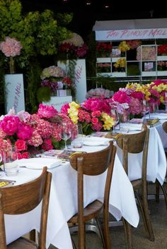 Flower Heaven at 'The Rumour Mill' launch