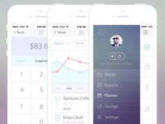 Here we present 50 cool finance app ui design for mobile, which we're sure will give you some ideas. Use these for inspiration on parts of your mobile app design Web Design, App Ui Design, User Interface Design, Flat Design, Mobile App Design, Mobile Ui, Design Thinking, Finance, Simple App