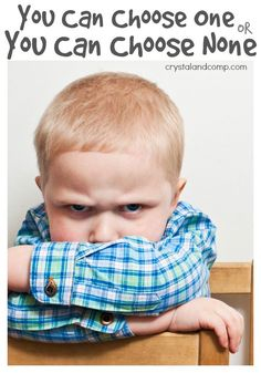 A child discipline method that I have used for over a decade!