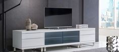 The Quattro 460+4120SD+460 Modular gloss white tv unit system. Build the perfect TV unit to house all of your accessories, support your television, and frame a room with the modular range of Quattro TV units. To learn more about our tv units, visit our website http://www.gainsville.com.au/ or come in to one of our Melbourne showrooms to view the rest of our modern, designer furniture.