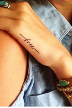 Hot quote tattoo for girls http://www.loveitsomuch.com