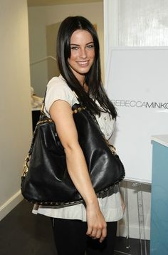 Jessica Lowndes carrying a Rebecca Minkoff bag