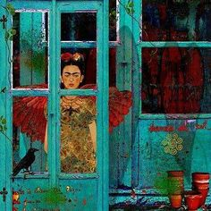 """Frida Kahlo: """"Feet what do I ned you for when I have wings to fly"""". Frida E Diego, Frida Kahlo Diego Rivera, Frida Art, Mexican Artists, Mexican Folk Art, Natalie Clifford Barney, Mexican Design, Arte Popular, Monet"""