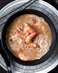 Thai Shrimp-and-Coconut Soup with Lemongrass