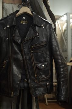 Buco leather biker jacket