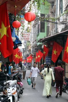 The streets of the old quarter in Hanoi, are a busy place, filled with pedestrians, motorcycles, bicycles and the occasional rickshaw on the prowl for...