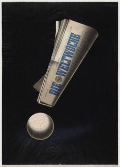 By Herbert Leupin (Swiss, 1916–1999), c. 1 9 5 0, Die Weltwoche.