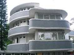 Art Deco in Bandung, Indonesia