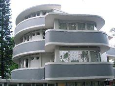 Art deco building in Bandung