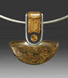 Bronzite Pendant (pendant only)