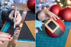 This year, skip the expensive ornaments and lighting and make your own Dollar Tree Christmas decorations. Just add a little elbow grease to make these Christmas DIY projects shine. Christmas Craft Projects, Christmas Crafts To Make, Homemade Christmas Gifts, Crafts For Kids, Christmas Decorations, Diy Projects, Christmas Ideas, Holiday Decorating, Decorating Ideas