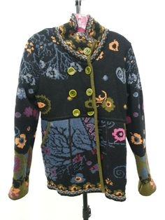 90a68f820 Ivko Women's Multicolor Cardigan Sweater Size M #fashion #clothing #shoes  #accessories #