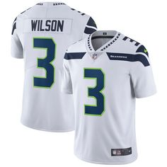 22 Nike Stitched Seattle Seahawks  3 Russell Wilson White NFL Vapor  Untouchable Limited Jersey Cousins 33d58f98f