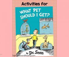 What Pet Should I get Activities with Free Writing Prompt -Great activities for Preschool, Kindergarten or 1st Grade