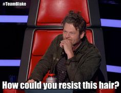 The Voice--Love this haha