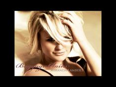 """Miranda Lambert - Baggage Claim - """"When you hit the ground, check the lost and found, cause it ain't my problem now!"""""""