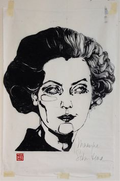 Greta Garbo - Maayke.nl