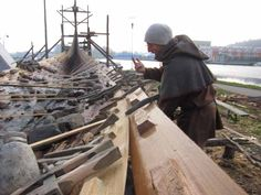 building the world's most iconic viking ship, part 3. The Traditional Crafts Blog