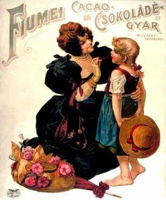 Fiumei Cacao és Csokoládégyár 1910