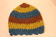 Wool Crochet Childs Hat by ladystamp on Etsy, $20.00
