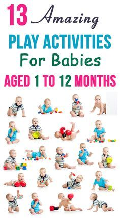 13 Amazing Play Activities For Babies Aged 1 To 12 Months: the following activities will also help enhance your baby's fine motor and logical thinking skills. We have come up with an interesting list of baby #Activities month by month from the time of birth till 12 months of age.