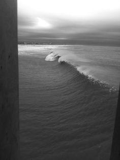 Wrightsville Beach during hurricane Sandy