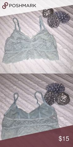 PINK VS Bralette Amazing condition, like new! Size large..I offer 15% off bundles of 2 or more! Anymore questions feel free to ask! Happy poshing❤️ PINK Victoria's Secret Intimates & Sleepwear Bras