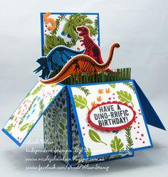 No Bones about it Box Card www.nicolejuliewilson.blogspot.com.au www.facebook.com/NicoleWilsonStamp #stampinup