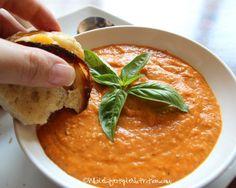 Roasted Tomato Soup   WholeLifestyleNutrition.com