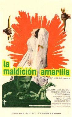 """La maldición amarilla (1963) """"Der Fluch der gelben Schlange"""" de Franz Josef Gottlieb - tt0055991"""