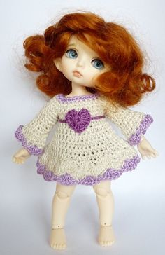 Lati Yellow/PukiFee2 Pc Outfit Set Purple Heart
