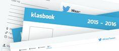 Start schooljaar 2015-2016 met de werkbladen Klasbook of KlasTweet