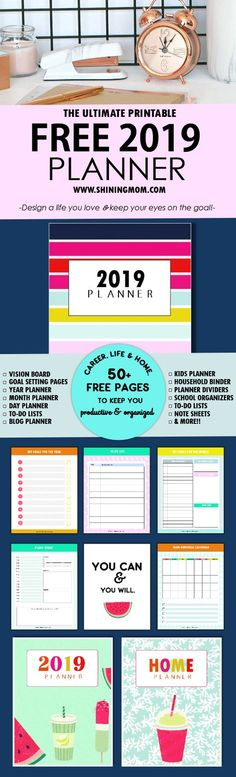 The 76 best 2019 planner images on Pinterest in 2018