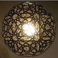 Bromeliad: DIY Moroccan pendant - Fashion and home decor DIY and inspiration