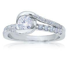 Sirena Brilliant-Cut Diamond Engagement Ring 3/4ct. T.W.