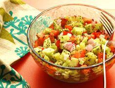 Turmeric & Saffron: Salad Shirazi
