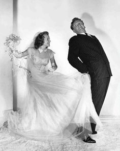 """Van Johnson and June Allyson in this publicity still for """"The Bride Goes Wild (1948)."""""""