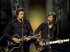 Rare vid of Sunday Morning Coming Down ~ Johnny Cash and Kris Kristofferson (he wrote the song). This was performed on the Johnny Cash TV program many years ago,. Johnny Cash June Carter, Johnny And June, Steel Guitar, Country Music Videos, Country Songs, Soul Music, My Music, Music Clips, Indie Music