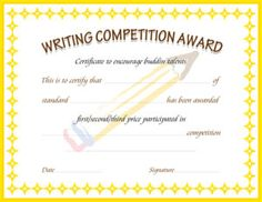 Math achievement certificate high school students certificate and writing competition award certificate template for ms word download at httpcertificatesinn yadclub Gallery