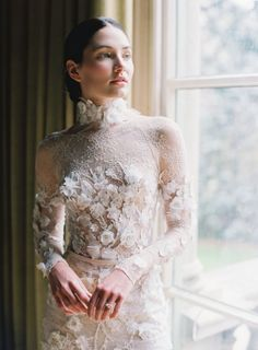 Dreamy yet moody bridal inspiration in rust and emerald Wedding Dress Trends, Wedding Gowns, Bridal Looks, Bridal Style, Bridal Skirts, Bridal Cape, Bridal Fashion Week, Dc Weddings, Wedding Inspiration