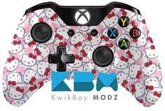 Custom Hello Kitty Xbox One Controller | KwikBoy Modz  #KwikBoyModz #CustomController #HelloKitty #XboxOne #XboxOneController