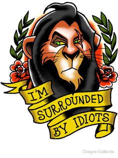 I'm Surrounded by Idiots by Cheyne Gallarde