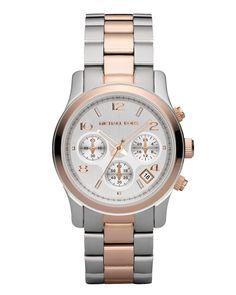 MK5315 Michael Kors Twotone Women's Stainless Steel Watch | WatchesOnNet.com
