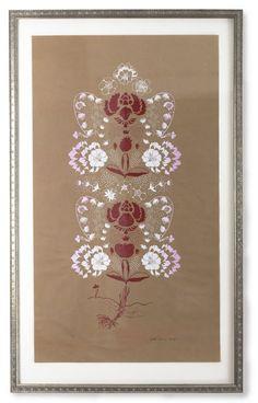 Las Fresas Rojas, silkscreen print by Britt Browne Silk Screen Printing, Letterpress, Printmaking, Mandala, Artsy, Ceiling Lights, Cabinet, Frame, Prints