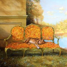 Tiger-Lily-Settee