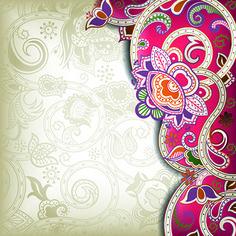 indian wedding invitation card background design – Wedding Tips Indian Wedding Invitation Cards, Wedding Invitation Background, Wedding Invitation Card Design, Wedding Background, Art Background, Background Designs, Indian Illustration, Wedding Illustration, Illustration Styles