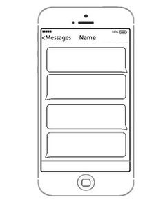 Blank Text Message Template Text messages, Messages