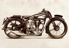 1933 Norton Model 40